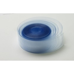 Rurka koszulka termokurczliwa PVC Ø67mm - bezbarwna 1mb - szerokość 105mm