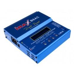 Ładowarka Imax B6AC 80W z zasilaczem + adaptery i sensor temp.