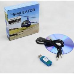 Symulator lotu 8in1 - USB - FMS/XTR/G4/Aerofly/RF/PhoenixRC