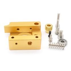 Ekstruder aluminiowy MK8 1,75mm - Lewy - do drukarki 3D RepRap