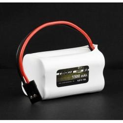 Pakiet NiMH Redox RX-Pack 4,8V 1500 mAh [kostka]