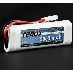 Redox 2000 mAh 7,2V - Pakiet NiMH