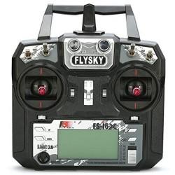 FlySky FS-i6X 10CH 2.4GHz + odbiornik FS-X6B AFHDS 2A i-Bus