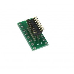 Adapter przejściówka DIP16 na SO16 z pinami