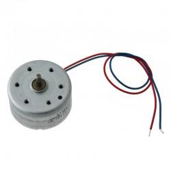 Mini silnik szczotkowy - 3V - oś 5mm - 24x12,5mm - Typ MT74