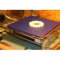Podkładka do druku 3D na grzałkę stołu heatbed - 20x20cm