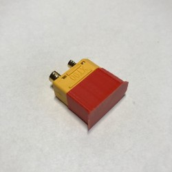Osłonka na wtyk XT90 - czerwona - Zabezpieczenie złącza