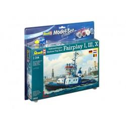 Harbour Tug Boat Fairplay - REVELL - 65213 - Zestaw z klejem i farbami