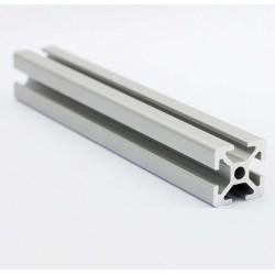 Profil aluminiowy T6 2020 T6 600mm - anodowany - do drukarek 3D, stelaży, maszyn przemysłowych