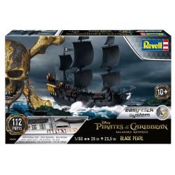 Black Pearl - Czarna Perła z Piraci z Karaibów 1:150 - REVELL - 05499