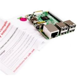 Raspberry Pi 3 model B WiFi Bluetooth 1GB RAM 1,2GHz