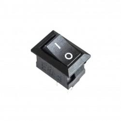 Wyłącznik On-Off 117S 125V/6A - czarny