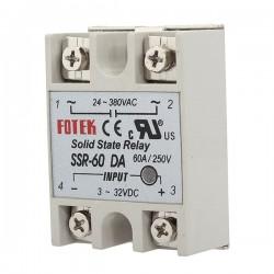 Moduł przekaźnika SSR-60DA 60A/380V - przekaźnik elektroniczny