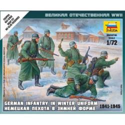 Zvezda 6198 German Infantry (winter uniform, 1941-1945)