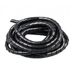 Oplot na kable - 8mm - czarny - 12mb - drukarki 3D