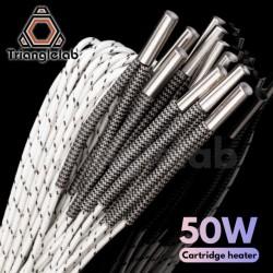 Grzałka 24V 50W - TriangleLab - 6x20mm - grzałka do drukarki 3D