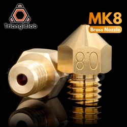 Dysza MK8 - 0,4mm - TriangleLab - filament 1,75mm - dysza do drukarki 3D