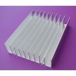 Radiator 100x76x21mm - aluminiowy uniwersalny
