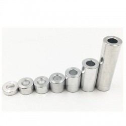 Dystans aluminiowy - 3mm - do maszyn CNC - 1szt