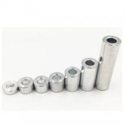 Dystans aluminiowy - 9mm - do maszyn CNC - 1szt
