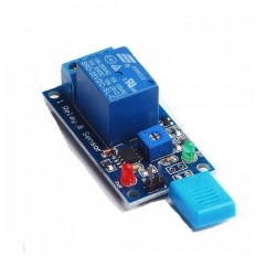 Czujnik wilgotności HR202 12V z przekaźnikiem 10A/250V AC