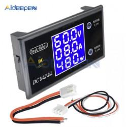 Miernik napięcia i prądu - 0-100V, max 10A - miernik LCD - watomierz