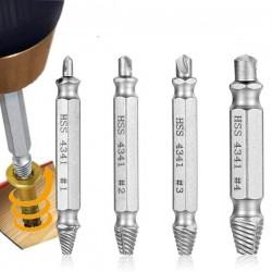 REBITY do Wykręcania urwanych śrub, wkrętów - HSS 4341 - Zestaw 4 szt.