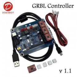 Kontroler CNC, Lasera - GRBL - 3 osie - 3x A4988 - kompletny sterownik