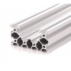 Profil aluminiowy V-SLOT C-BEAM 50cm - anodowany - do drukarek 3D, stelaży, maszyn przemysłowych