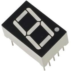 Wyświetlacz LED 7-seg. 1 cyfra - czerwony - 0.56 cala