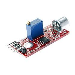 Czujnik dźwięku na LM393 - detektor hałasu