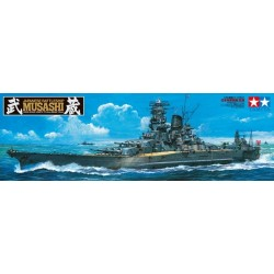 Tamiya 78031 Japanese Battleship Musashi