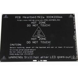 Heatbed MK2A 300x200mm - grzałka stołu do drukarek RepRap 3D