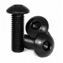 Śruba Socket M5x25 - 10 szt czarna - pod klucz imbusowy