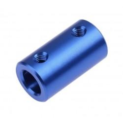 Sprzęgło sztywne 5/5mm - aluminiowy łącznik - Drukarki 3D