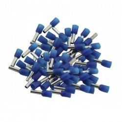 Końcówka kablowa VE1008 tulejkowa z izolacją - niebieska 1mm2 - 100szt - Konektor