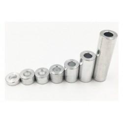 Dystans aluminiowy - 20mm - do maszyn CNC - 1szt