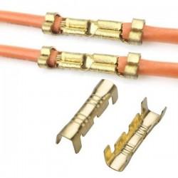 Łącznik przewodów nieizolowany - na kabel 0.3-1.5mm2 - 10szt - Złącze zaciskowe