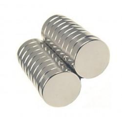 Magnes 8x2mm walcowy N38 - neodymowy