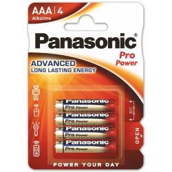 Panasonic Pro Power, 4x AAA / LR03 - 4 baterie - blister