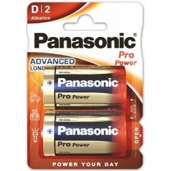Panasonic Pro Power, 2x D / LR20 - 2 baterie - blister