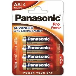 Panasonic Pro Power, 4x AA / LR6 - 4 baterie - blister