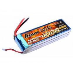 Li-Po Gens Ace 4000mAh 11.1V 25C