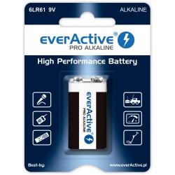 Bateria alkaliczna - 6LR61 9V (R9*) - everActive - 1 sztuka - blister