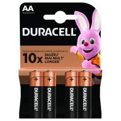 Baterie alkaliczne - 4x AA / LR6 - Duracell Basic - 4 sztuki - blister