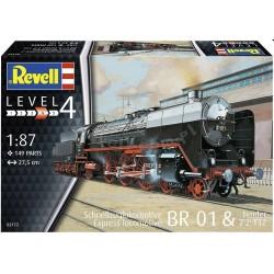 Revell - 02172 - Schnellzuglok BR01 mit Tender 2'2' T32
