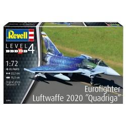 Revell - 03843 - Eurofighter Luftwaffe 2020 Quadriga