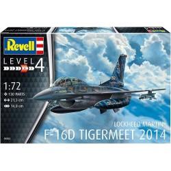 Revell - 03844 - F-16D Tigermeet 2014 Lockheed Martin