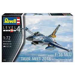 Revell - 03860 - F-16 MLU TIGER MEET 2018 31 Sqn. Kleine Brogel