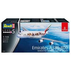 Revell - 03882 - Airbus A380-800 Emirates Wild Life